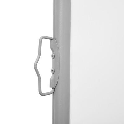vidaXL Auvent latéral rétractable Crème 170 x 1000 cm