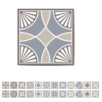 WALPLUS Autocollant d'escalier Calcaire espagnol 15x15 cm 24 feuilles