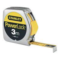 Mètre anti-choc - Classic ABS - 3 M - Powerlock - STANLEY