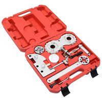 vidaXL Kit d'outils de calage de moteur 10 pcs