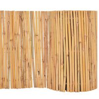 vidaXL Clôture Bambou 500 x 30 cm