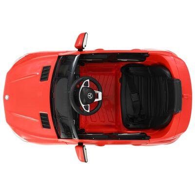 vidaXL Voiture pour enfants Mercedes Benz GLE63S Plastique Rouge
