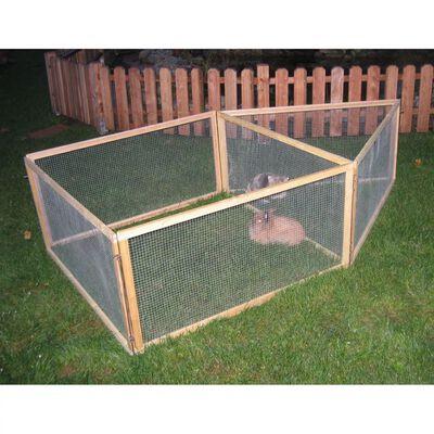 Kerbl Enclos extérieur pour animaux de compagnie Vario Bois 84399