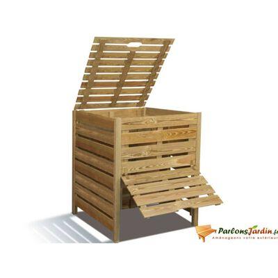 Bac à compost en bois Bilbao 800L