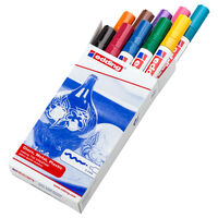 edding Marqueurs à peinture brillante 10 pcs Multicolore 750