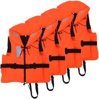 vidaXL Aide à la flottabilité 4 pcs 100 N 40-60 kg