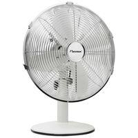 Bestron Ventilateur rétro de bureau DFT35W 35 cm 35 W Blanc