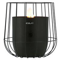 Cosi Lanterne à gaz Cosiscoop Basket Noir