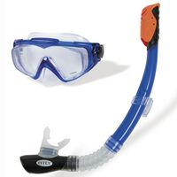 Intex Ensemble de plongée 2 pcs Silicone Aqua Sport