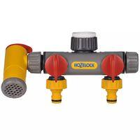 Hozelock Raccord de robinet à 3 voies Flowmax
