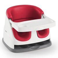 Ingenuity Siège d'appoint pour bébé 2 en 1 Baby Base Rouge coquelicot