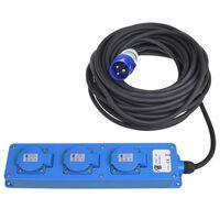 ProPlus Prise de courant Schuko à 3 voies 20 m 2 USB