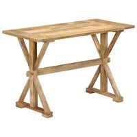 vidaXL Table de salle à manger 140x70x76 cm Bois de manguier massif