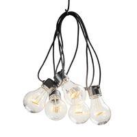KONSTSMIDE Guirlande lumineuse avec 10 ampoules ambrées extra chaud