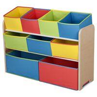 Delta Children Organisateur de jouets Multi-boîtes Multicolore