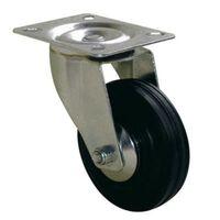 Roulette Port-roll Manutal pivotante - 68 x 50 mm - GUITEL