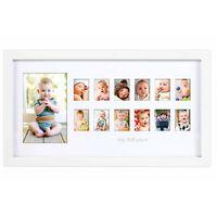 Pearhead Cadre photo pour moments du bébé Blanc