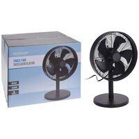 Excellent Electrics Ventilateur de table 35 W Noir