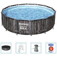 Bestway Ensemble de piscine ronde Steel Pro MAX 427x107 cm