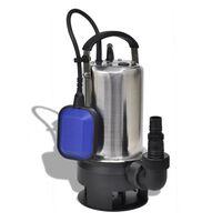 vidaXL Pompe submersible pour eaux sales 750 W 12500 L/h