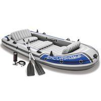 Intex Jeu de bateau gonflable avec rames et pompe 68325NP