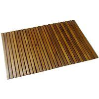 vidaXL Tapis de bain Acacia 80x50 cm