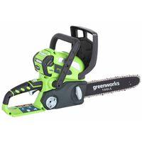 Greenworks Kit de tronçonneuse avec batterie 40 V 2 Ah G40CS30 20117UA