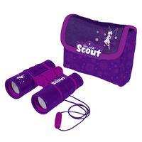 Scout Jumelles pour enfants avec poche ventrale en néoprène Violet