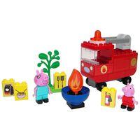 BIG Ensemble de camion de pompiers Peppa Pig Bloxx 40 pcs