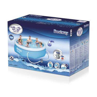 Bestway Ensemble de piscine Fast Set 305 x 76 cm 57270