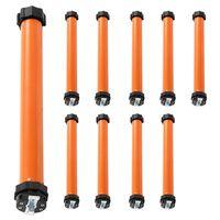 vidaXL Moteurs tubulaires 10 pcs 20 Nm