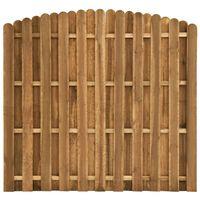 vidaXL Panneau de clôture Pinède 180x155-170 cm