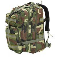 vidaXL Sac à dos en style d'armée 50 L Camouflage
