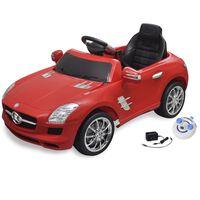 vidaXL Voiture électrique pour enfants Mercedes Benz SLS AMG Rouge 6 V