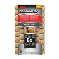 Eponge abrasive 3M 'SandBlaster Ultra Flexible' P220 11,4 cm
