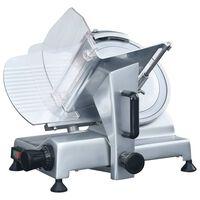 vidaXL Trancheur à viande électrique professionnel 250 mm