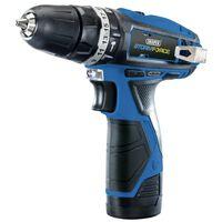 Draper Tools Perceuse avec 2 batteries 1,5Ah Storm Force 10,8V 25Nm