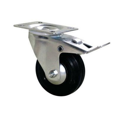 Roulette Port-roll - 100 mm - Pivotante à frein - GUITEL