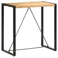 vidaXL Table de bar 110x60x110 cm Bois de manguier massif
