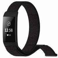Bracelet Fitbit Charge 3 nylon - noir
