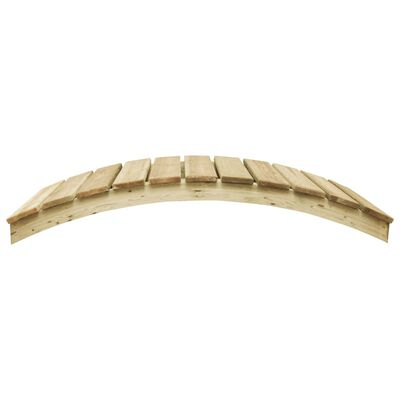 vidaXL Pont de jardin 170x74 cm Pin imprégné
