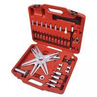 vidaXL Kit d'outils d'alignement d'embrayage auto-alignant SAC