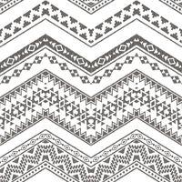 Urban Friends & Coffee Papier peint Ethnique Blanc et noir