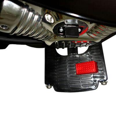 vidaXL Moto à chevaucher sur piles Noir