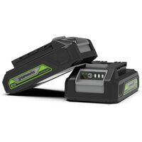 Greenworks Batterie 24 V 2 Ah