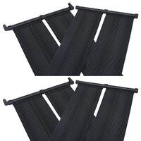 vidaXL Panneaux solaires de chauffage de piscine 4 pcs 80x310 cm