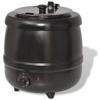 vidaXL Bouilloire à soupe électrique 10 L