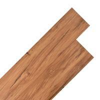 vidaXL Planches de plancher PVC 4,46 m² 3 mm Olm naturel