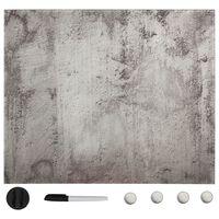 vidaXL Tableau noir magnétique mural Verre 40x40 cm