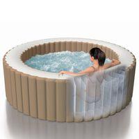 Intex Baignoire de massage à bulles Rond PureSpa